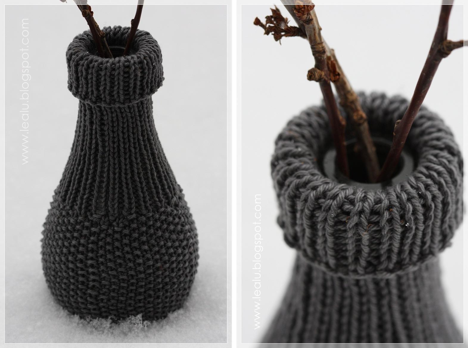 Knitted Bottle Wrap