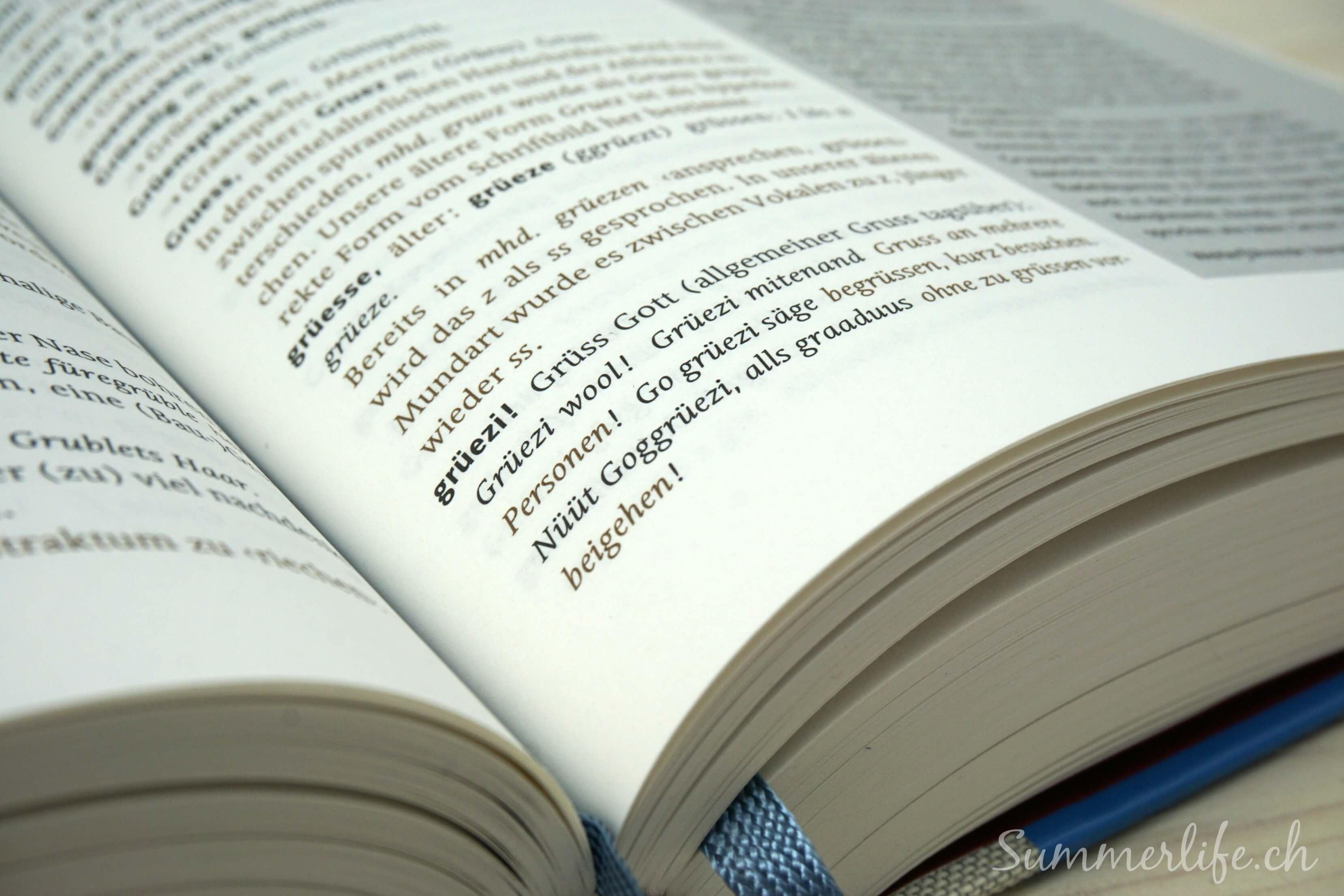 Swiss Dictionary